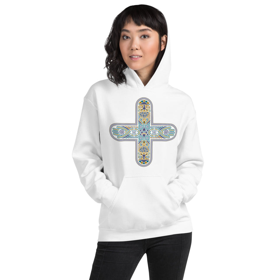 Decross Women Hoodie - White - Made to Order