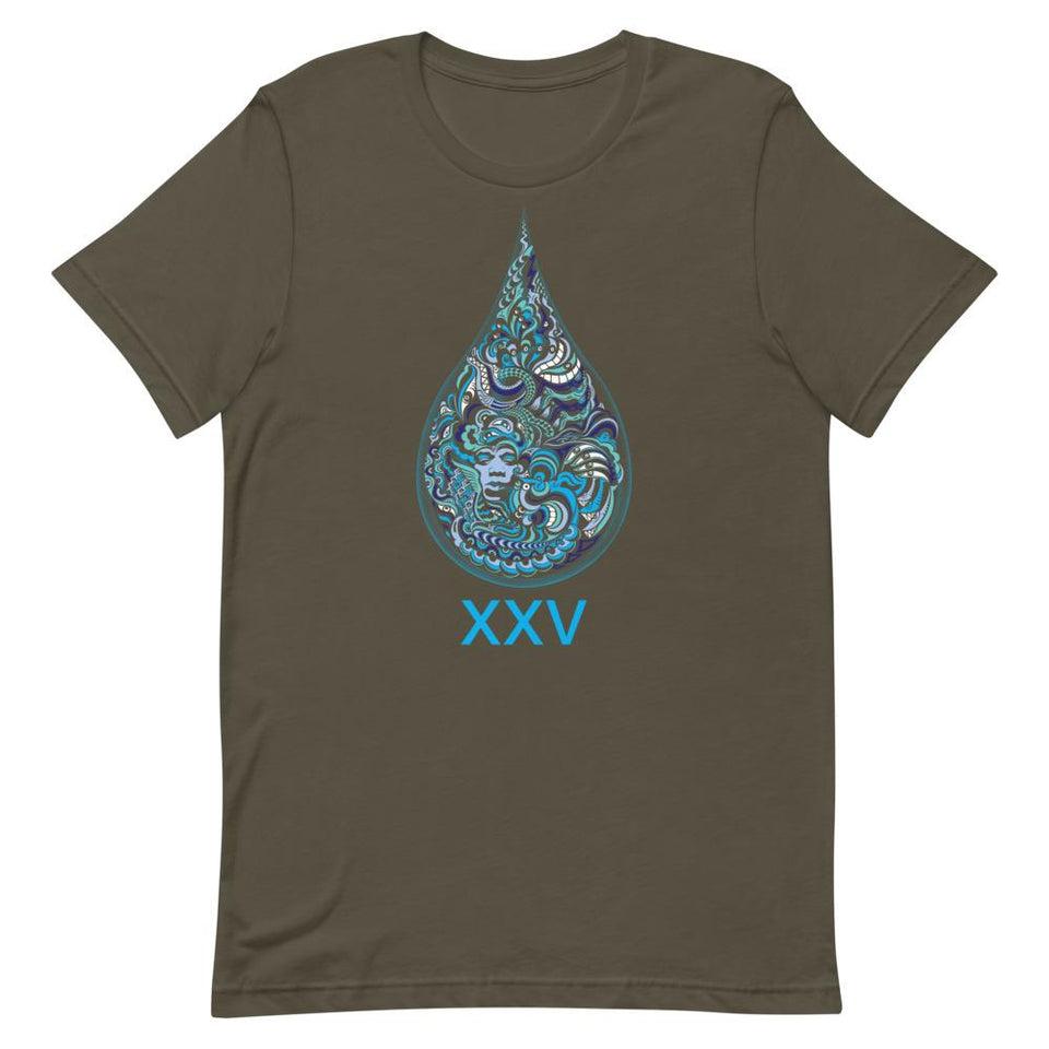 LSD XXV Made To Order Women T-Shirt - Army