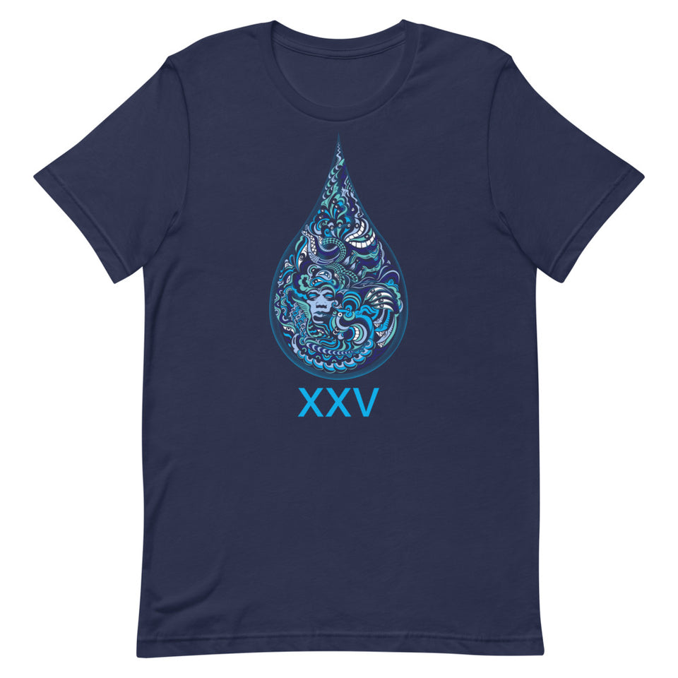 LSD XXV Made To Order Women T-Shirt - Navy