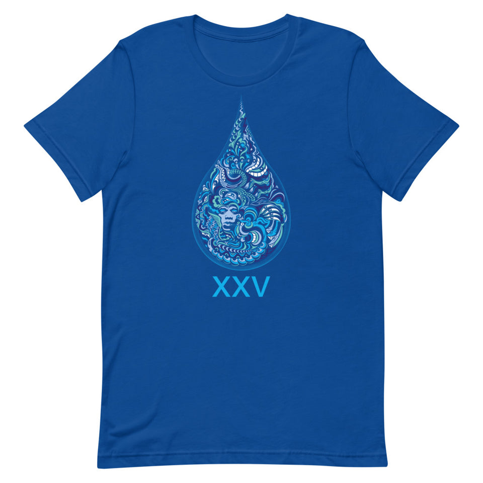 LSD XXV Made To Order Women T-Shirt - True Royal