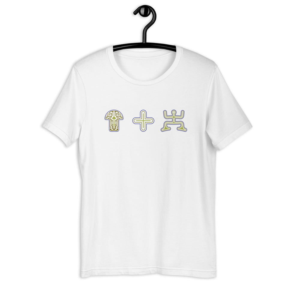 Mushroom Plus Party Short-Sleeve Women T-Shirt - White - Made to order