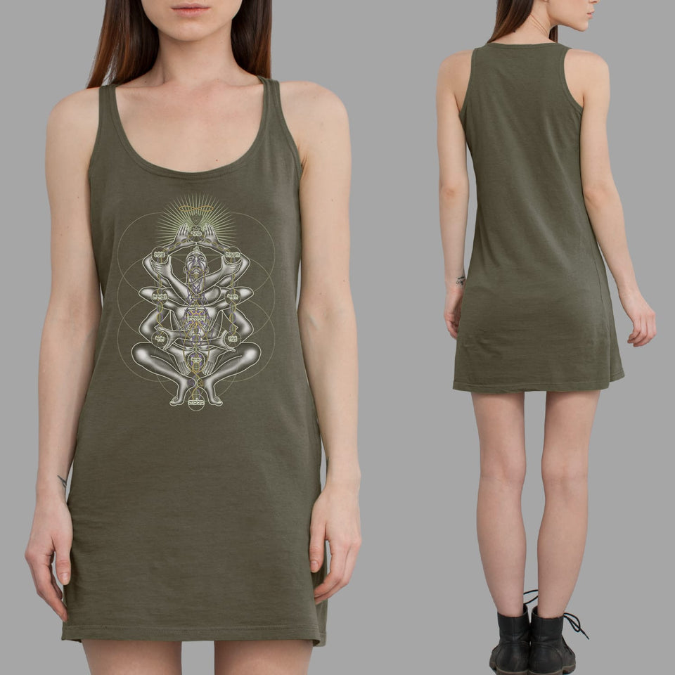 Dance Like A Tree Women Dress - symbolika
