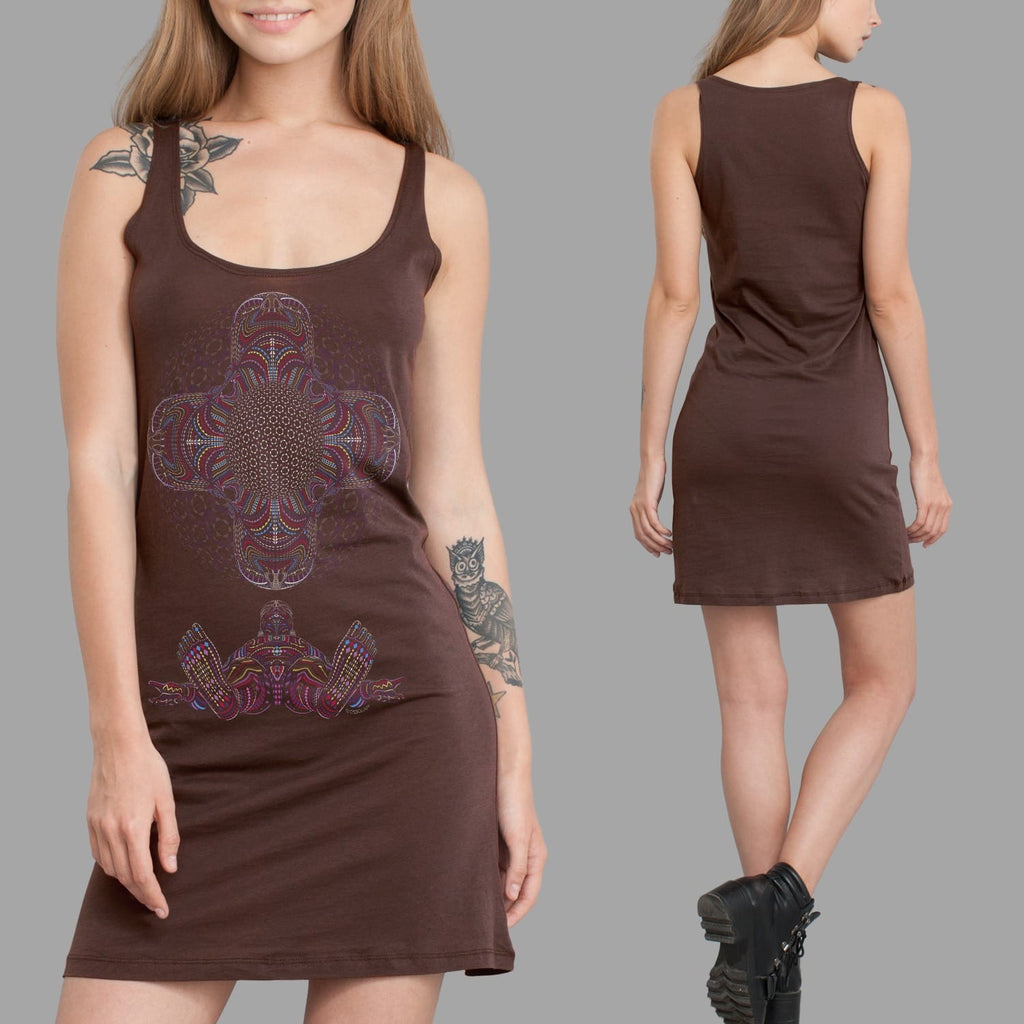 DMT HD Women Dress - symbolika