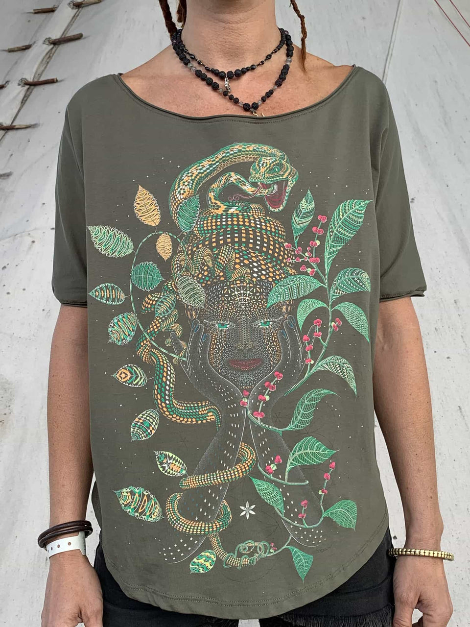 Aya Women Loose T-Shirt - symbolika