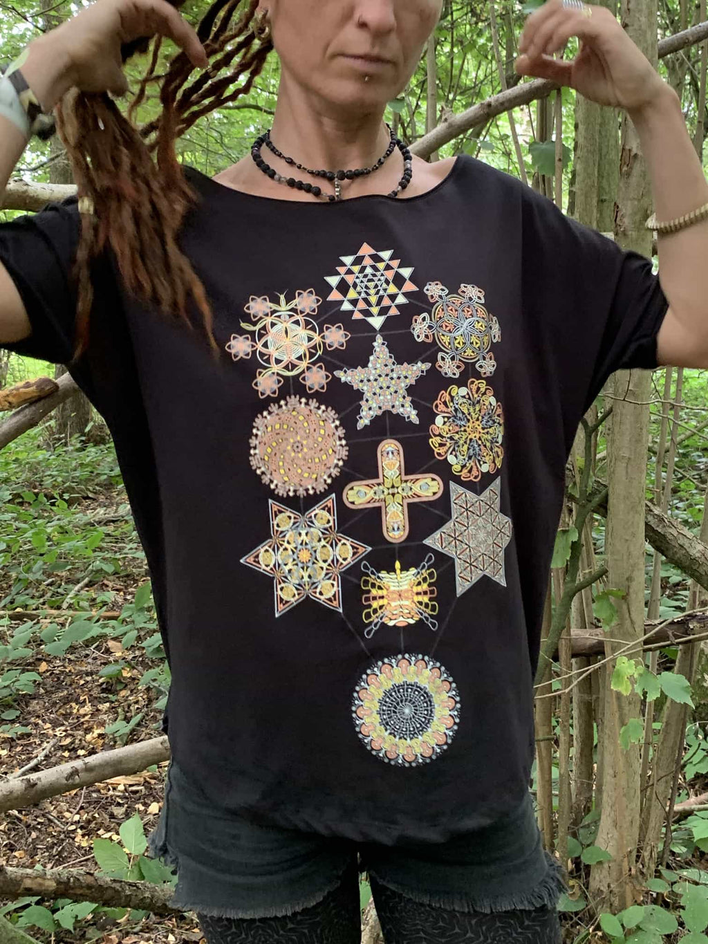 Symbol Tree Women Loose T-Shirt - symbolika