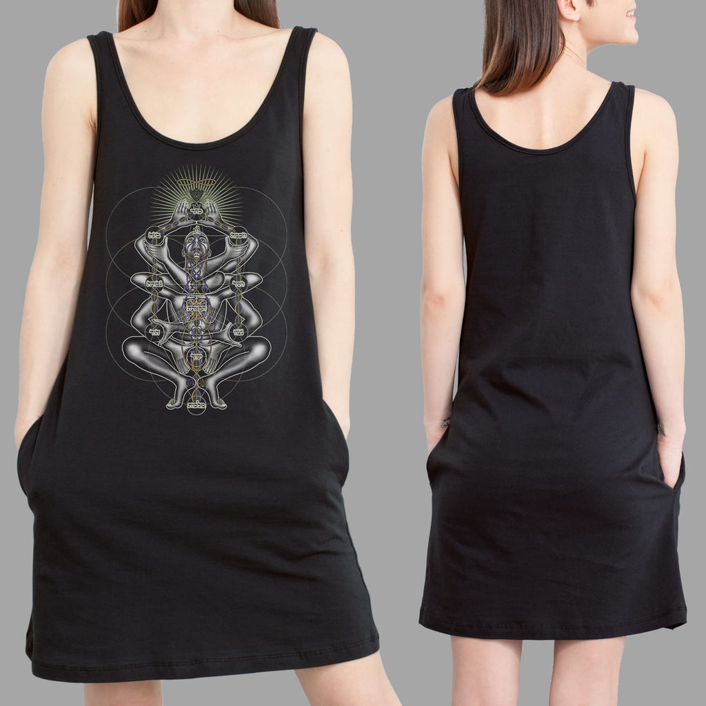 Dance Like A Tree Women Pocket Dress - symbolika