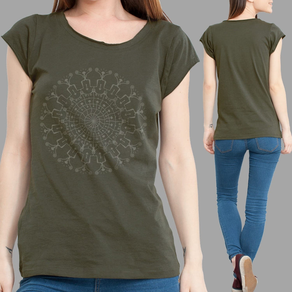 Shrooms Hora Women T-Shirt - symbolika