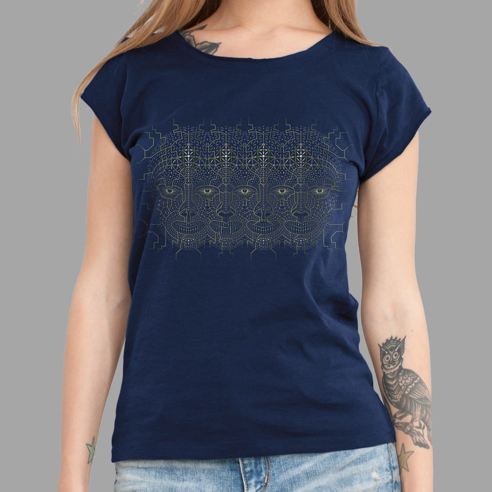 4th Dimension Aya Women T-Shirt - symbolika
