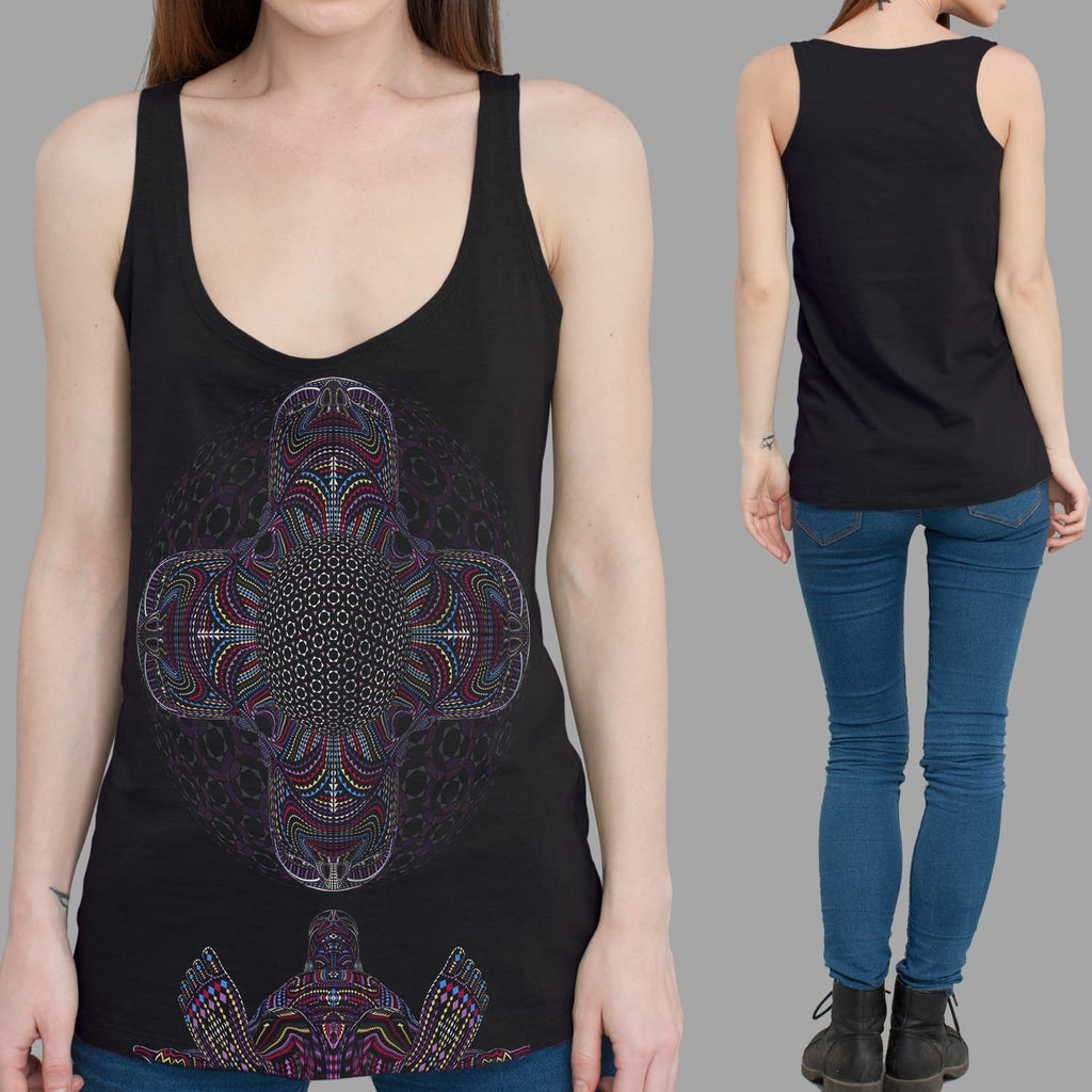 DMT HD Women Tank Top - symbolika