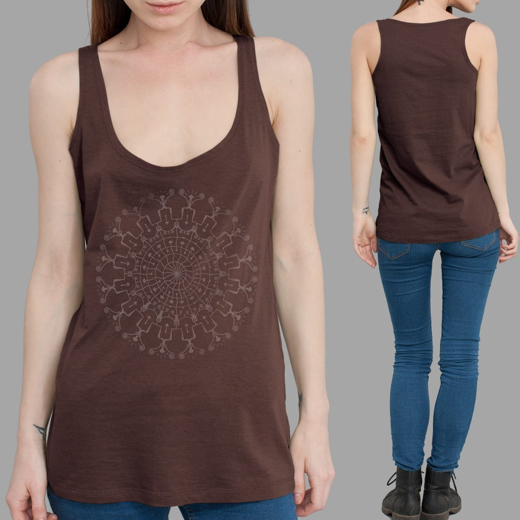 Shrooms Hora Women Tank Top - symbolika