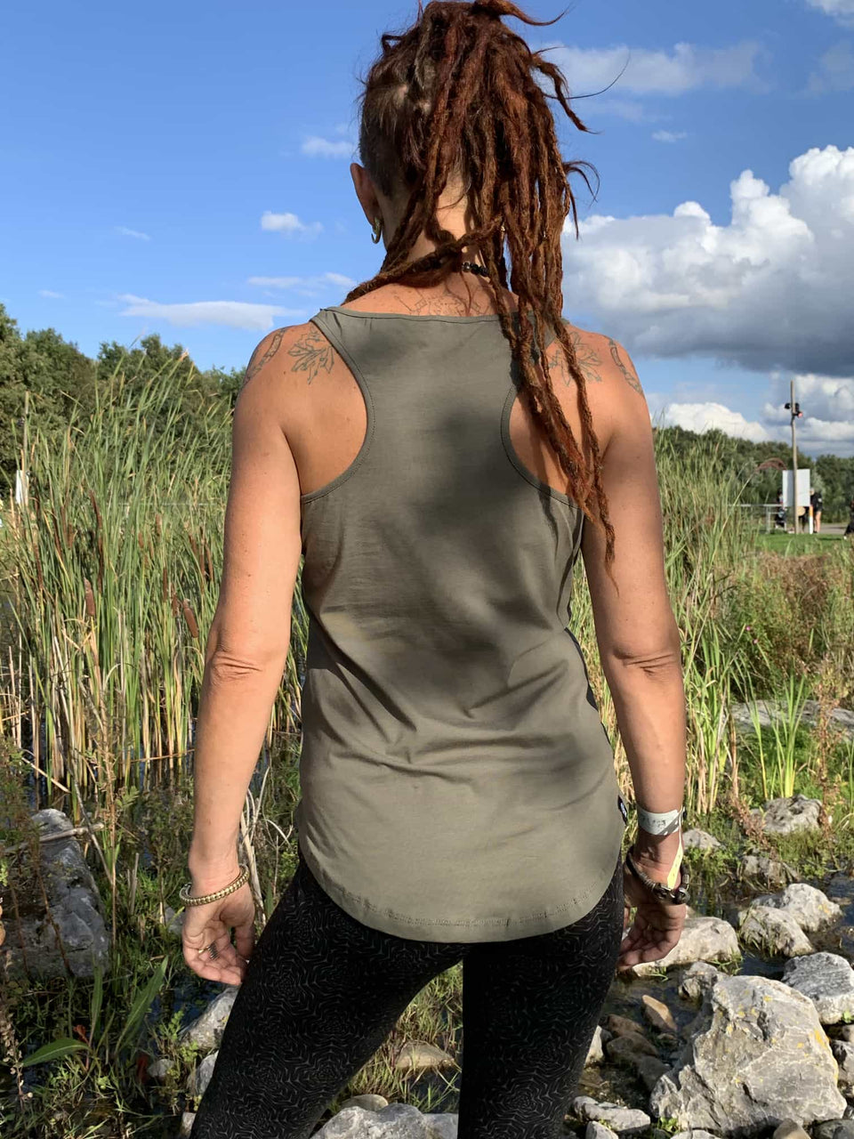Symbol Tree Women Vest Top - symbolika