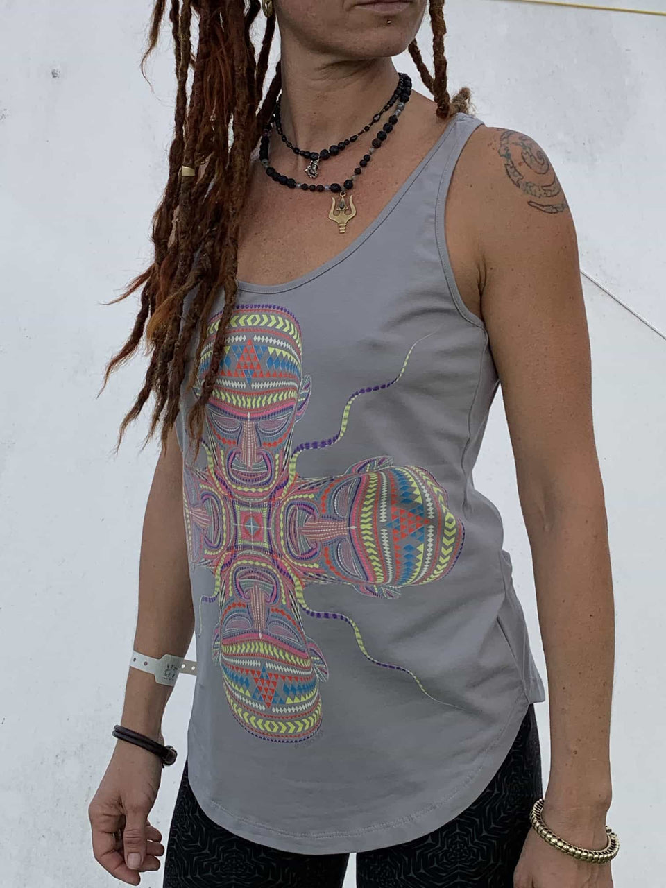 Chango Women Vest Top - symbolika