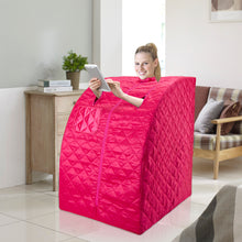 Personal Steam Sauna for Weight Loss, Detox & Relaxation at Home, Chair Included - Pink