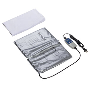 Durasage Infrared Heating Pad for Body Relief LCD Controller, Adjustable Velcro Straps, 120 Plus Degrees, White