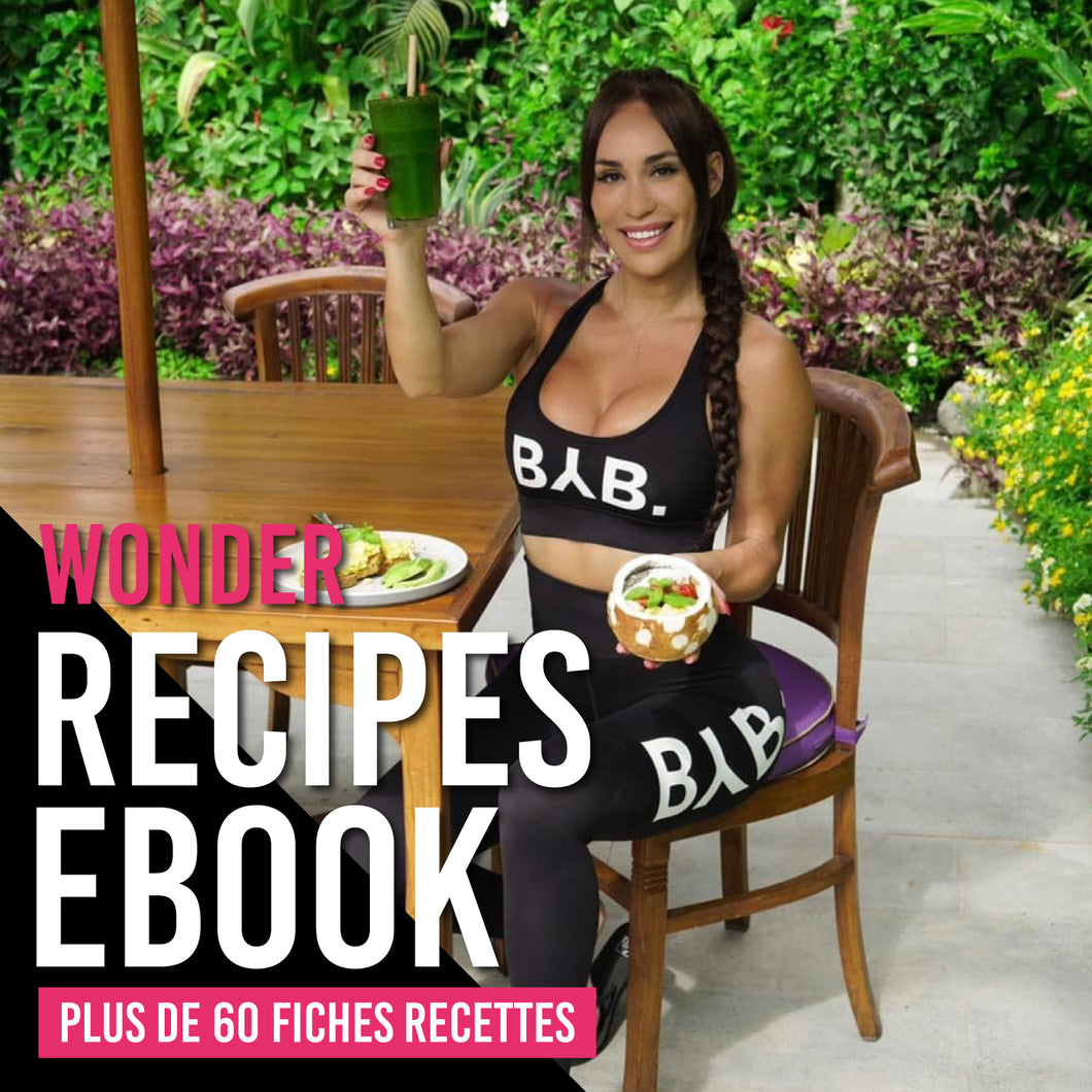 Wonder Recipes E-book