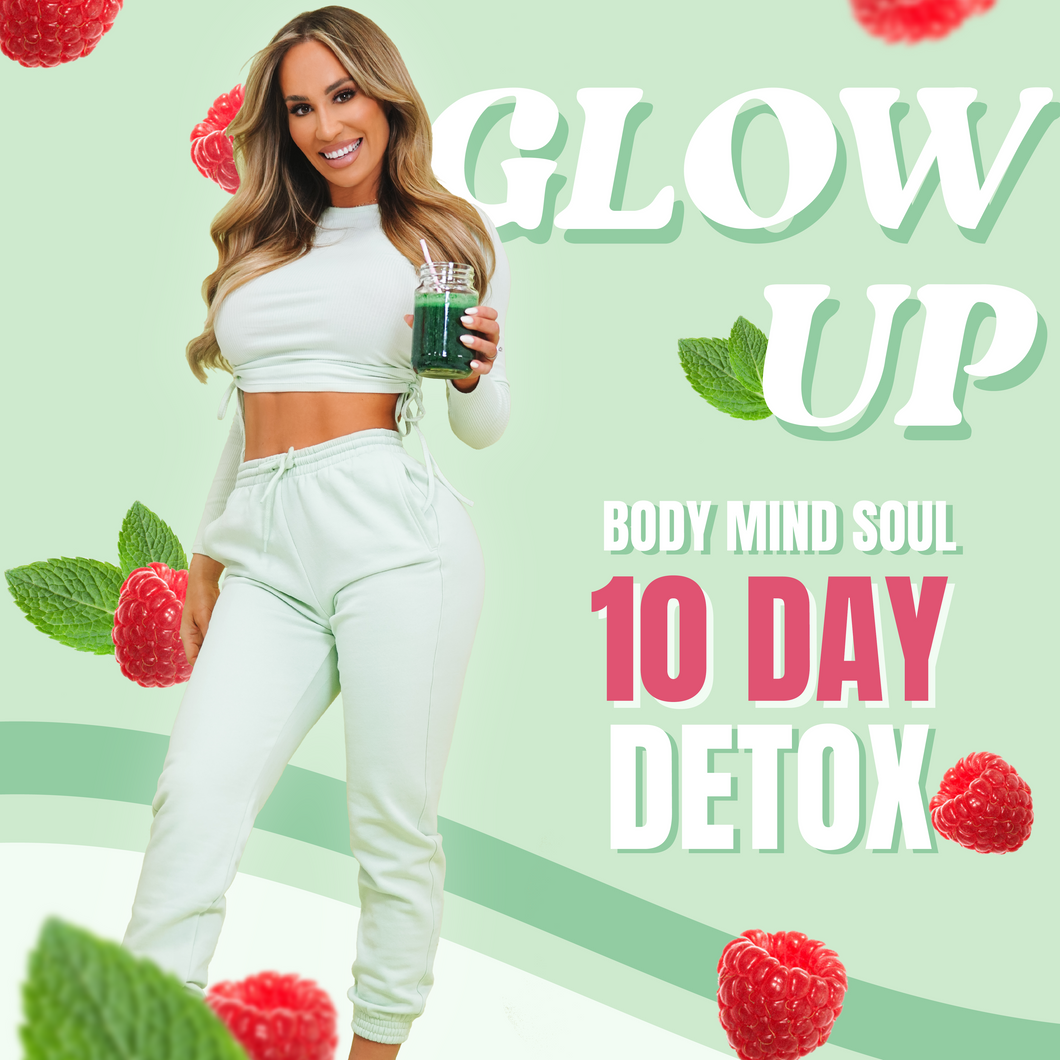 GLOW-UP body, mind & soul 10-day detox