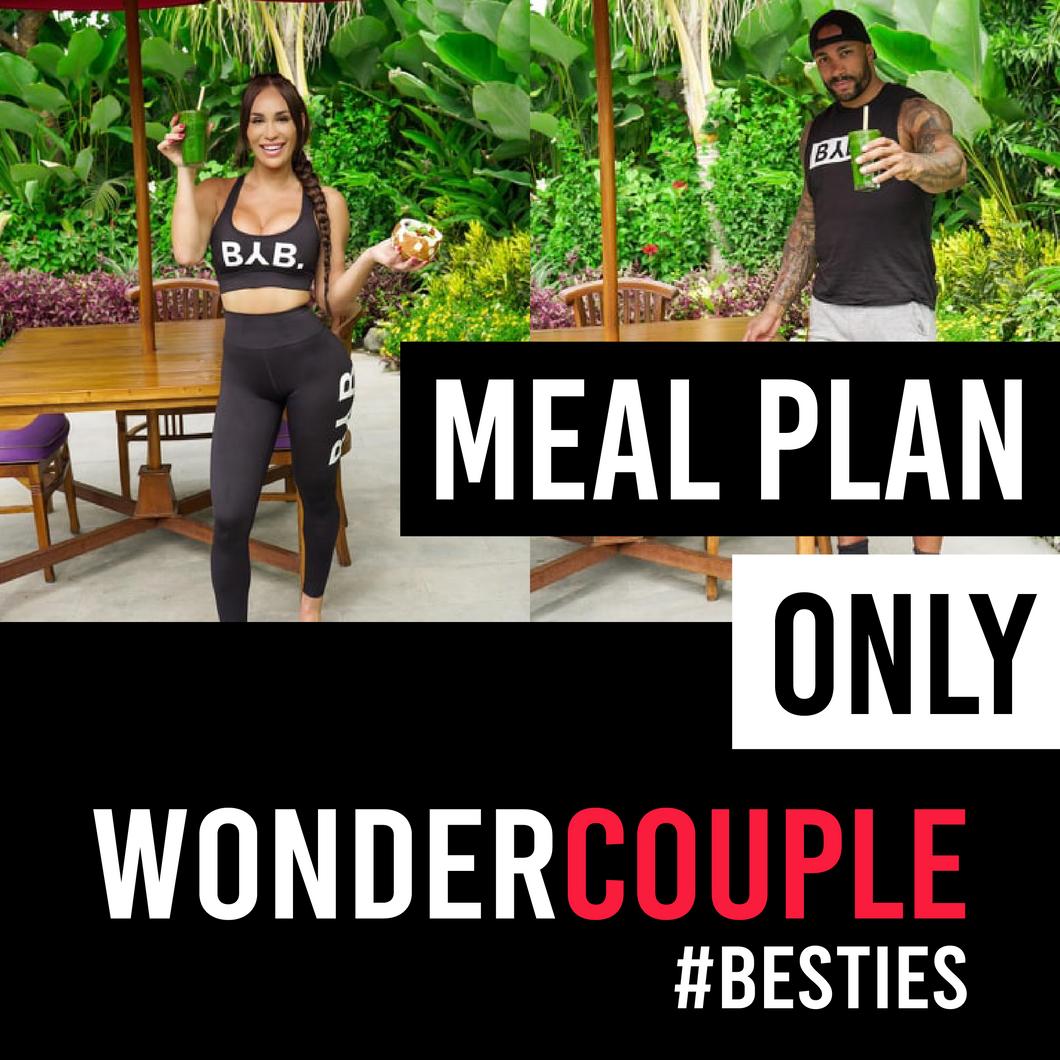Wonder Couple - Meal plan only