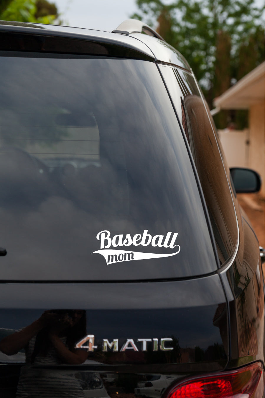 Baseball Mom Vinyl Decal Sticker