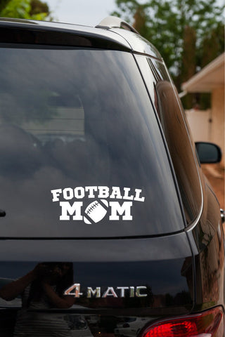 Football Mom Vinyl Decal Sticker v2