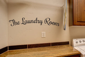 The Laundry Room Decal Vinyl Sticker - Home Decor