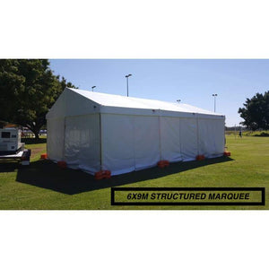Free Standing Marquee 6M X 9M