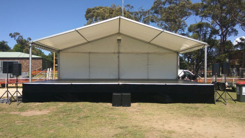 10mx6m Marquee Cover for Outdoor Stage