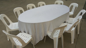Oval Dinning Table (each)