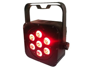 LED PAR CAN 7 X 3W FLAT RGB