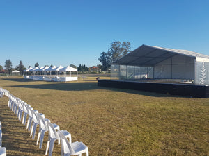10mx9m Marquee Cover for Outdoor Stage
