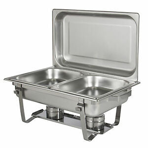 Chafing Dishes (Serving Trays) with 2 compartments