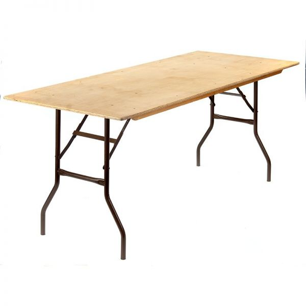 Wooden Trestle Tables (each)