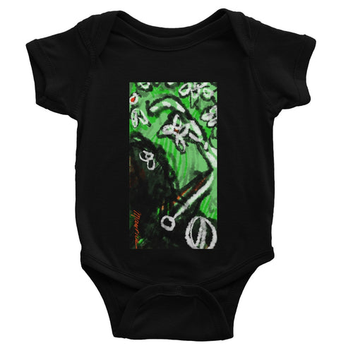 Kangaroo in the desert Baby Bodysuit