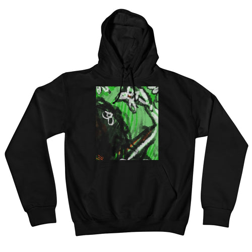 Kangaroo in the desert Retail Hoodie