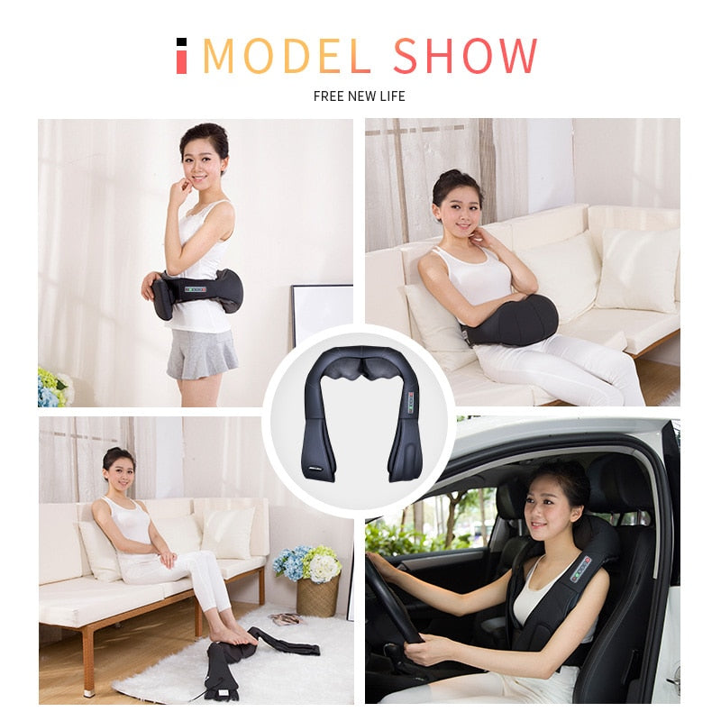 Electrical U-Shape Body Massager