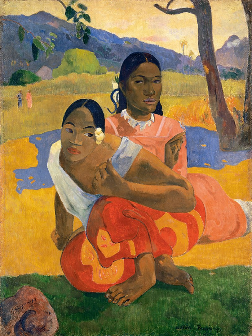 Tableau de Paul Gauguin - Quand te maries-tu ?