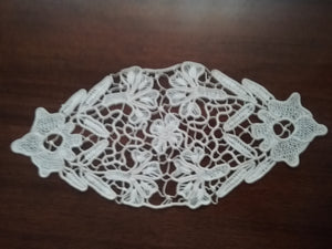 Medium Oval Cotton Crochet