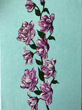 Load image into Gallery viewer, Magnolia Flowers Set Acrylic Painting Art and Style at Home Handmade Art by Maria Iliescu Wall Art Decor Contemporary Decoration Hot Sale Happy Sign Top Canadian Style Painting on Canvas Top Design Painting Home Decor Ideas - HANDMADE ART BY MARIA ILIESCU