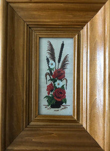 Wild Flowers Goblin Handmade Art by Maria Iliescu Art and Style at Home Lined Art at Home Wall Art Gallery Fashion Studio - HANDMADE ART BY MARIA ILIESCU