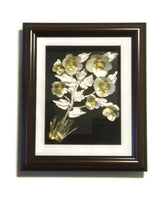 Load image into Gallery viewer, Pansy Call Me To You Art and Style at Home Flowers Fish Bones Handmade Gift Canadian Style Art by Maria Iliescu Wall Home Art Decor New Brand - HANDMADE ART BY MARIA ILIESCU