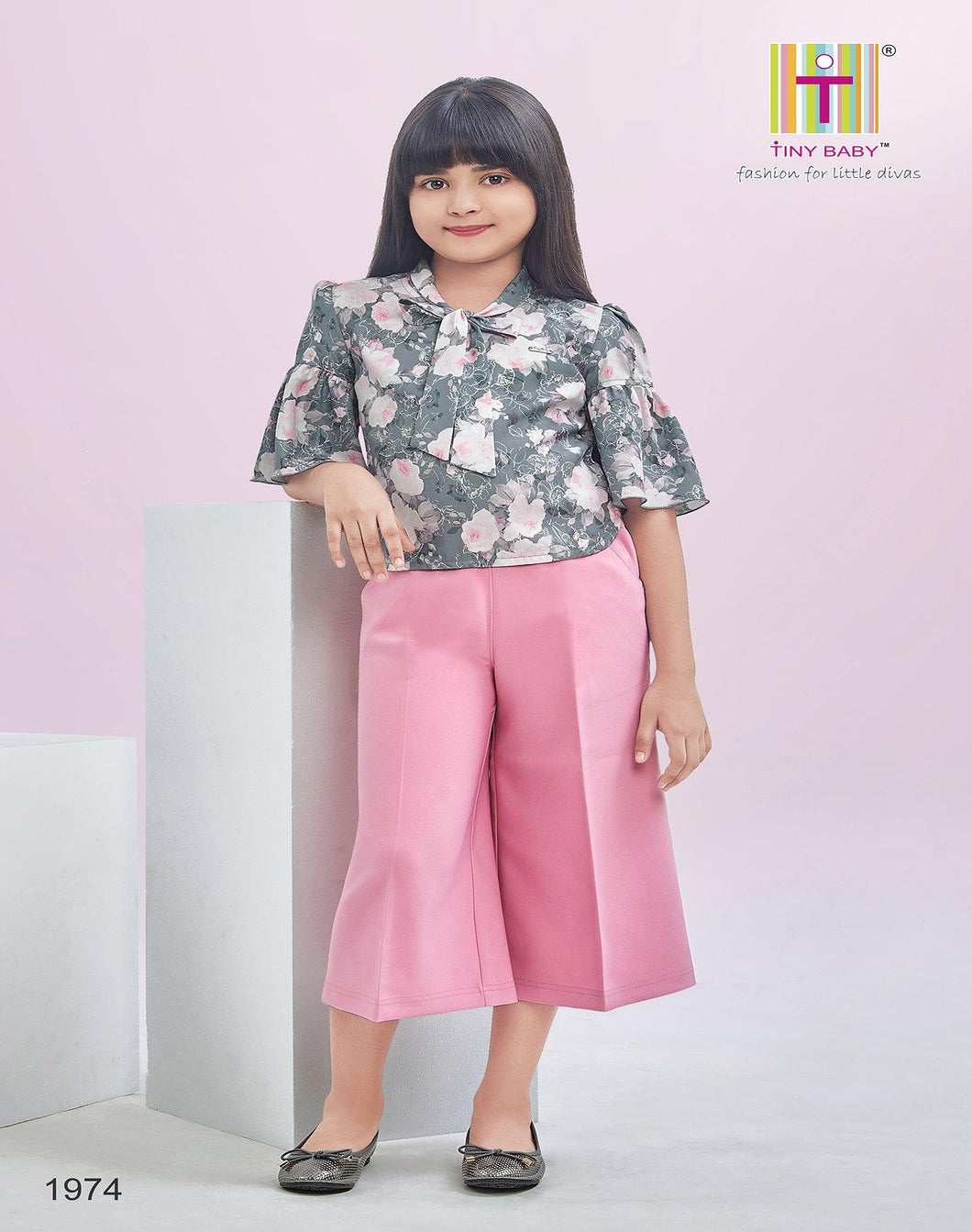 Tiny Baby Rose Pink Culottes