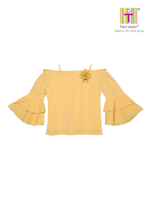 Tiny Baby Yellow Colored Top - TINY BABY INDIA