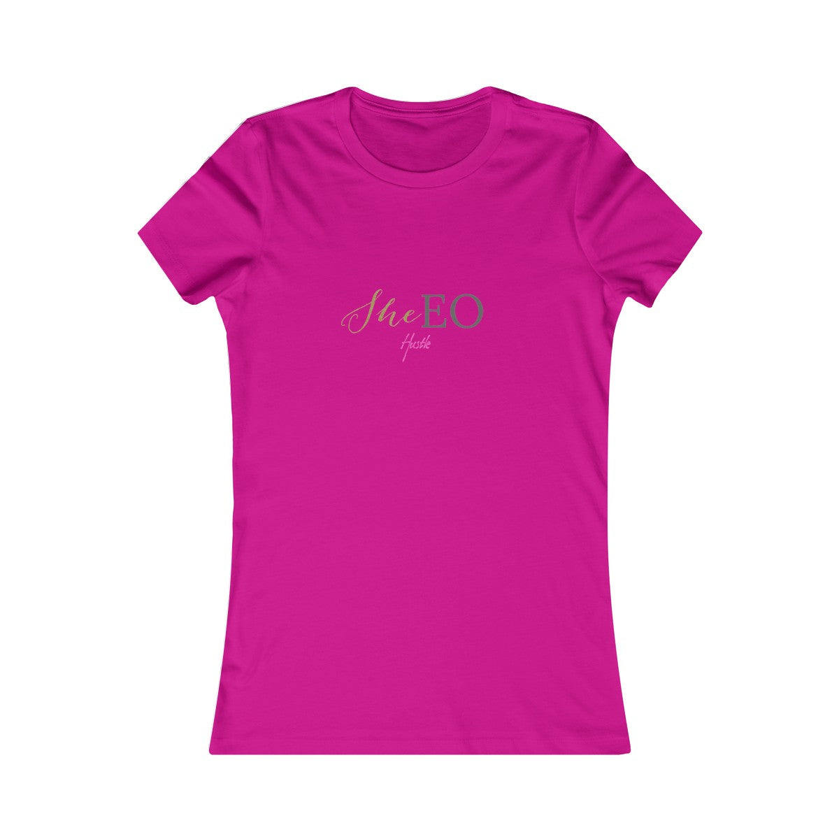 """SheEo Hustle"" Women's Favorite Tee by SheEo Collection"
