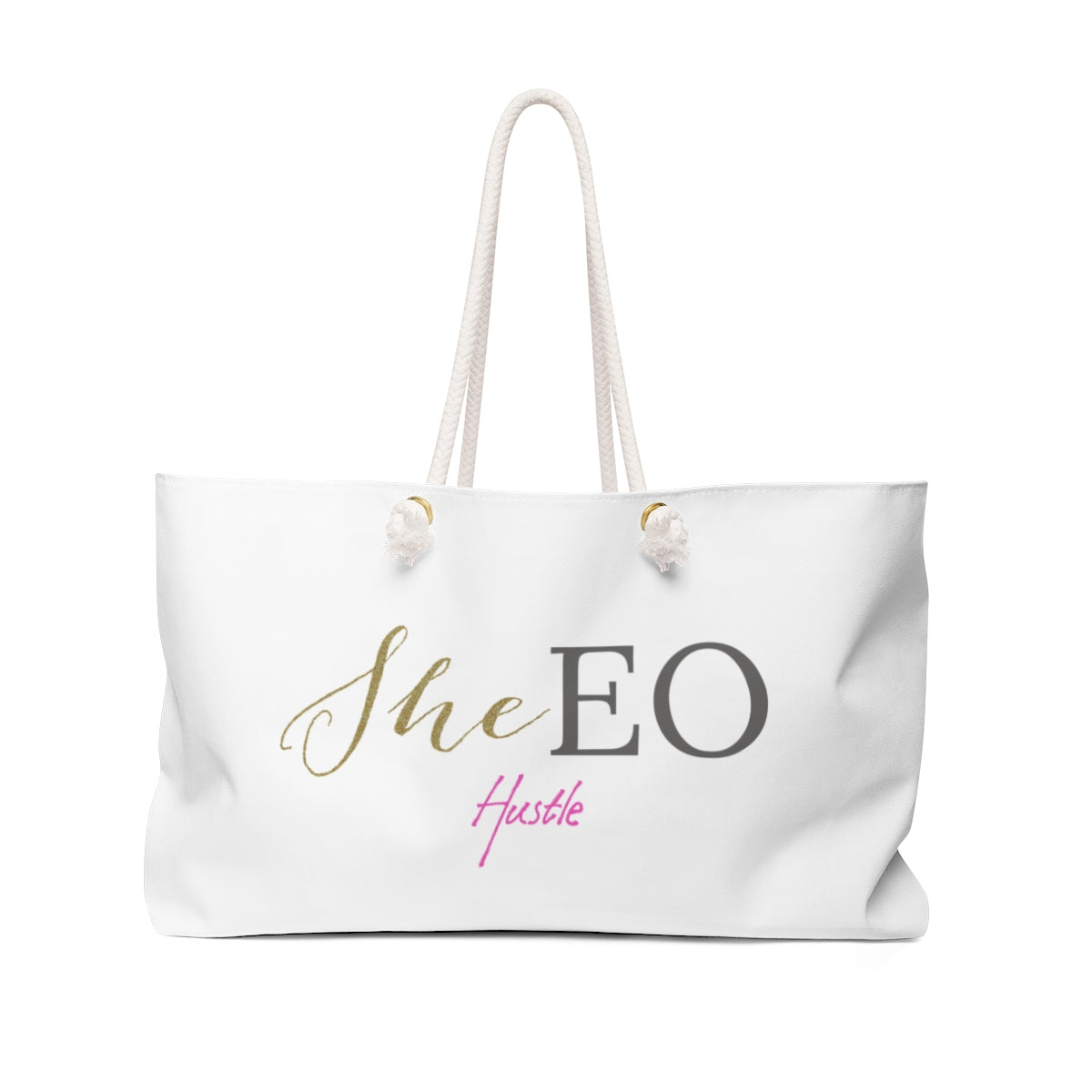 SheEO Hustle Weekender Bag