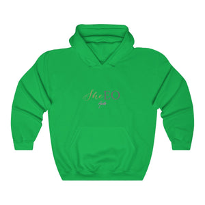 SheEO Heavy Blend™ Hooded Sweatshirt