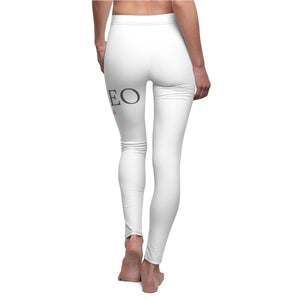 """SheEo Hustle"" Women's Cut & Sew Casual Leggings"
