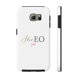 SheEO Hustle Case Mate Tough Phone Cases
