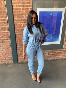 Drip Chain Jumpsuit