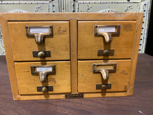 Gaylord Bros. Inc Library Drawers