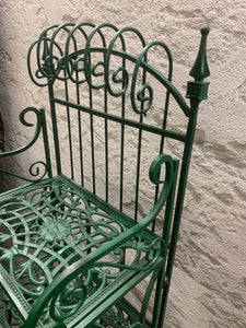 Cast iron bakers rack
