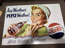 "Load image into Gallery viewer, ""Pepsi"" signs"